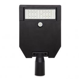Farola LED IP66 60W 145Lm/W Cree 3030 Negro Driver Meanwell HLG - Imagen 2