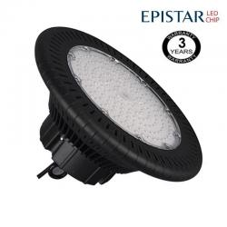 Campana industrial LED UFO 200W Epistar 3030-3D 125lm/w IP65