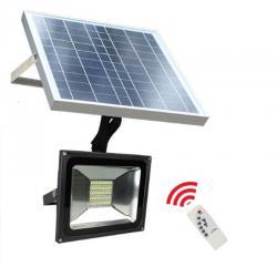 Foco Proyector Exterior SOLAR LED  20W