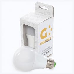 Bombilla Led Esférica Aluminio/Pc E27 9W 810Lm 30.000H Estuche Personalizado - Imagen 1