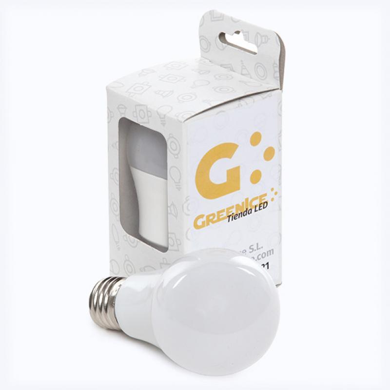 Bombilla Led Esférica Aluminio/Pc E27 5W 450Lm 30.000H Estuche Personalizado - Imagen 1
