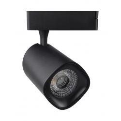 Foco LED 40W LYDIA BLACK para Carril Monofásico 24º