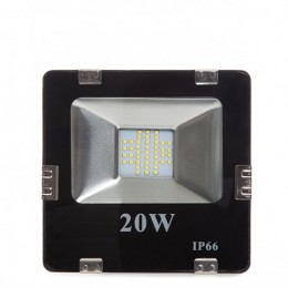 Foco Proyector Led para Exterior 20W 2000lm 30.000H