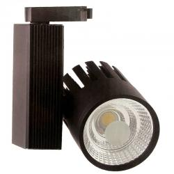 Foco LED 30W OLIVIA Black para Carril Monofásico