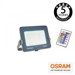 Foco Proyector RGB+W LED 30W AVANCE OSRAM CHIP