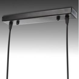 Lámpara Suspendida Bicycle 2xE27 (Sin Bombillas) Negro - Imagen 2