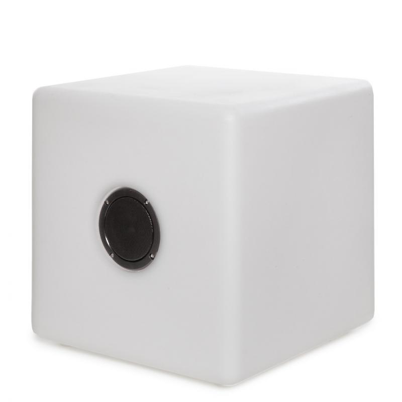 Lámpara Altavoz Cubo Magico RGB - Imagen 1