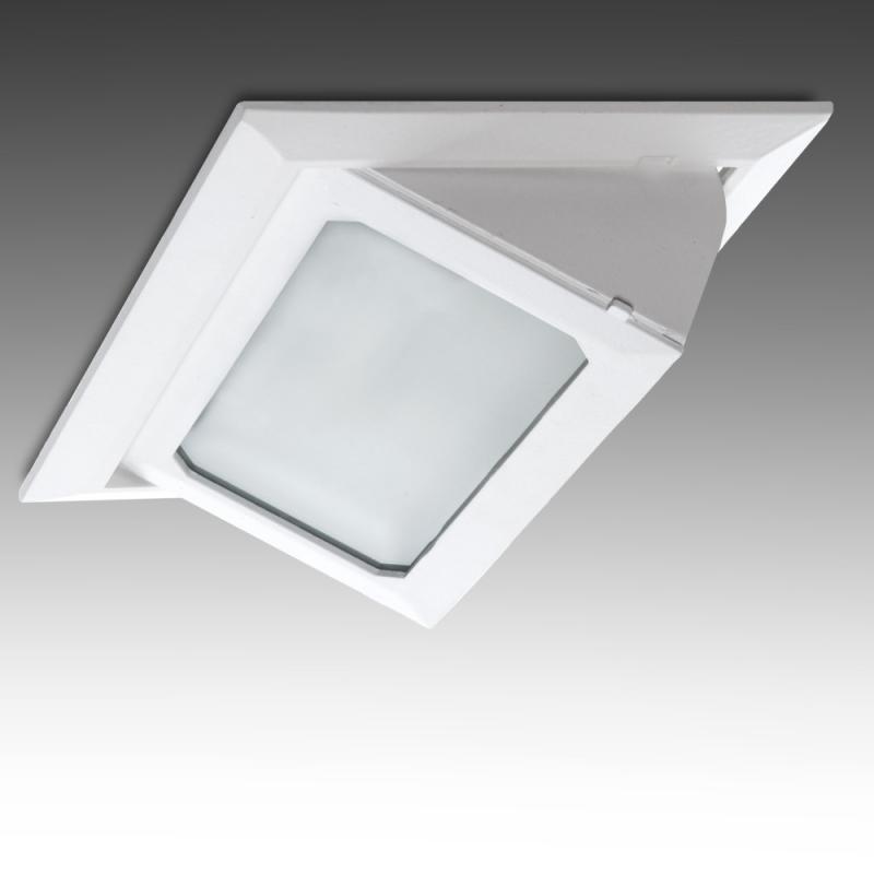 Foco Downlight LED Rectangular Basculante SMD3030 40W 4400Lm 40.000H - Imagen 1
