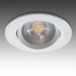 Foco Downlight  Circular LED COB 7W 630Lm 30.000H
