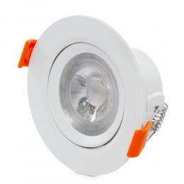 Foco Downlight  Circular LED COB 7W 630Lm 30.000H - Imagen 2