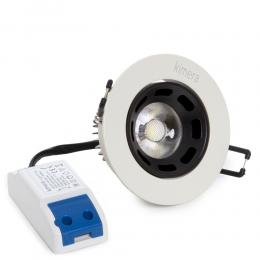 Led Downlight 6W 100-240V  460Lm 24° Ø85Mm - Kimera - Imagen 2