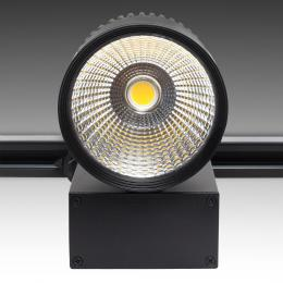 Foco Carril LED Negro 45W  45° 3300Lm - Kimera - Imagen 2