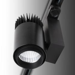 Foco De Carril LED Negro Esp Alimentacion 35W 230V - Kimera - Imagen 1