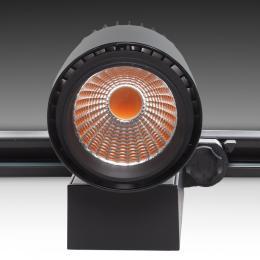 Foco De Carril LED Negro Esp Alimentacion 35W 230V - Kimera - Imagen 2