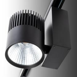 Foco Carril LED Negro 20W 1600Lm Epistar - Kimera