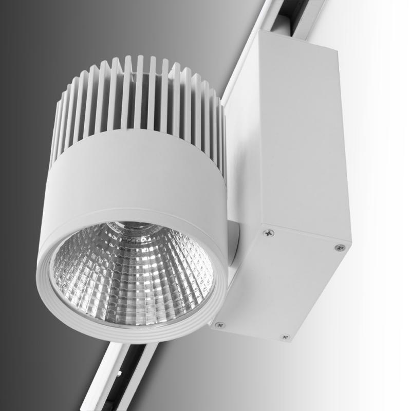 Foco Carril LED Blanco 20W 1600Lm Epistar - Kimera - Imagen 1