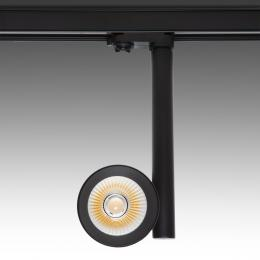 Foco Carril LED Negro 30W  45° Tija - Kimera - Imagen 2