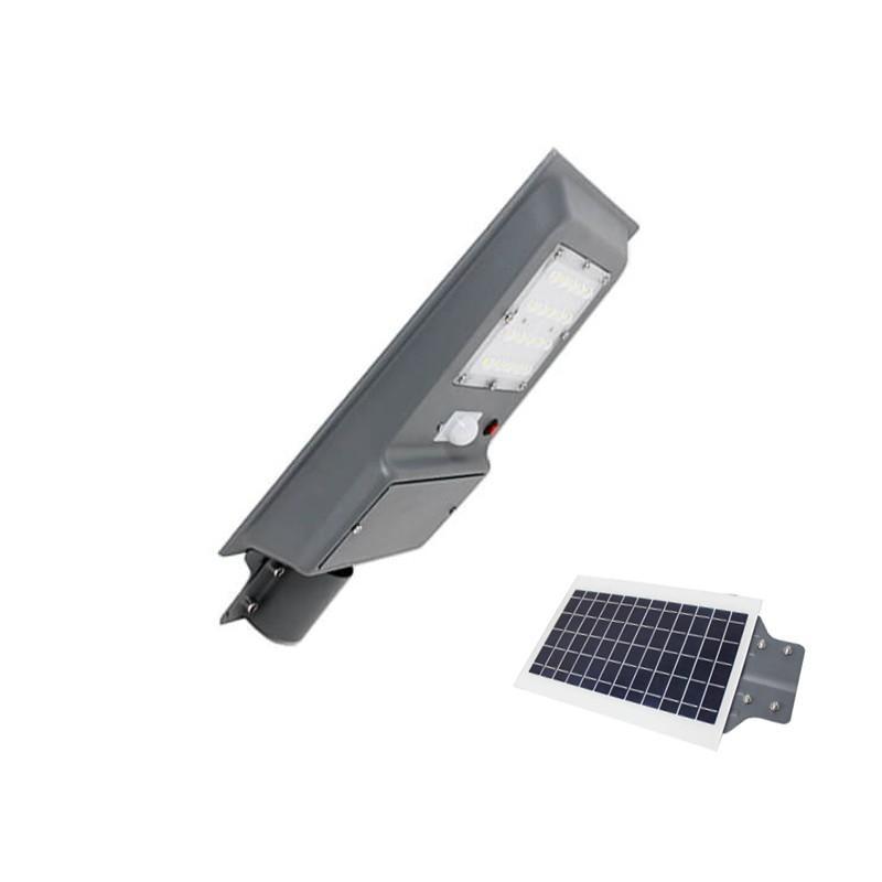 Farola LED 20W SOLAR ECO EPISTAR con Sensor de Movimiento - Imagen 1