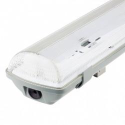 Pantalla estanca para dos tubos de led IP65 150cm