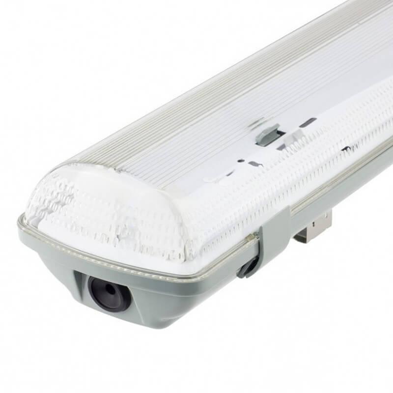 Pantalla estanca para dos tubos de LED IP65 150cm - Imagen 1