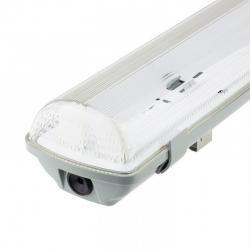 Pantalla estanca para dos tubos LED IP65 60cm