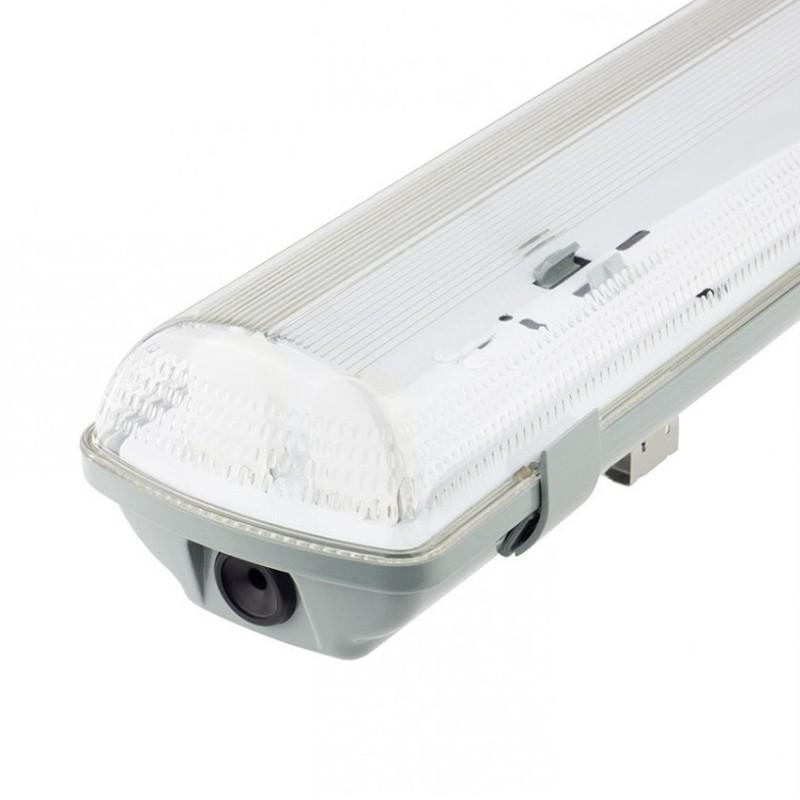 Pantalla estanca para dos tubos LED IP65 60cm - Imagen 1