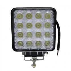 Foco Proyector LED 48W Cuadrado 12/24V para VEHICULOS