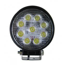 Foco Proyector LED 27W Circular 12/24V para VEHICULOS