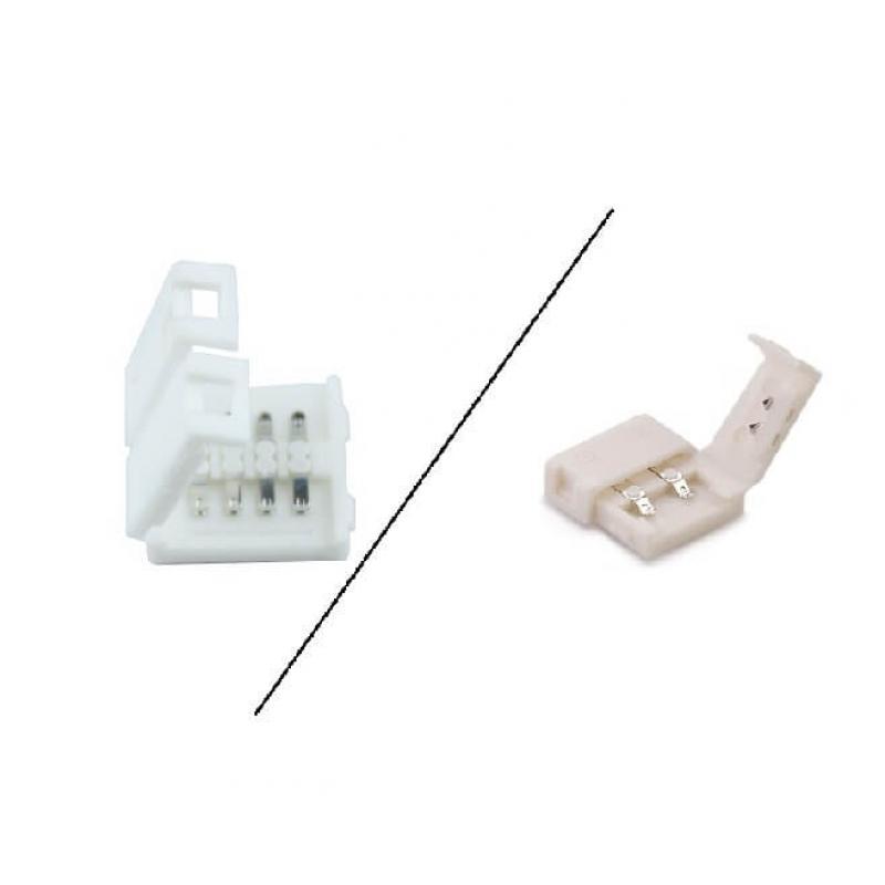 Conector rápido 12mm para Tira LED - Imagen 1