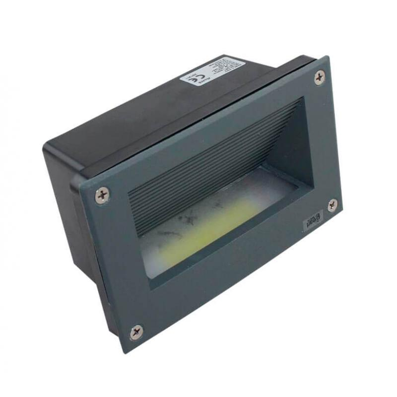 Baliza LED empotrable pared 3W IP65 - Imagen 1