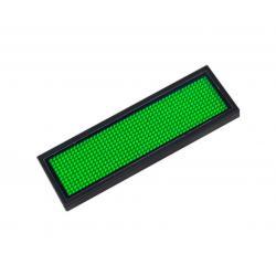 Microrótulo LED  DC 3.6V IP20 Verde 90x29x5 cm