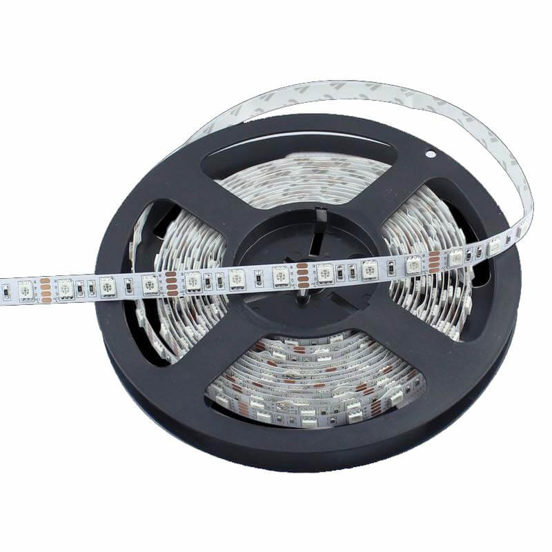Tira LED Flexible Interior 14.4W*5m RGB - Imagen 1