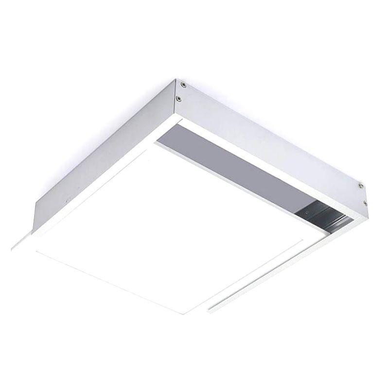 Kit de superficie de Panel 60x60 blanco - Imagen 1