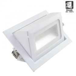 Foco proyector LED 36W orientable rectangular 120º - Imagen 1