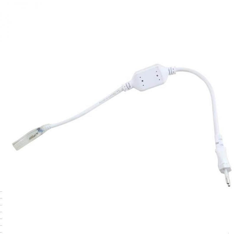 Cables+alimentación para tiras LED 220-240v 7*13mm - Imagen 1