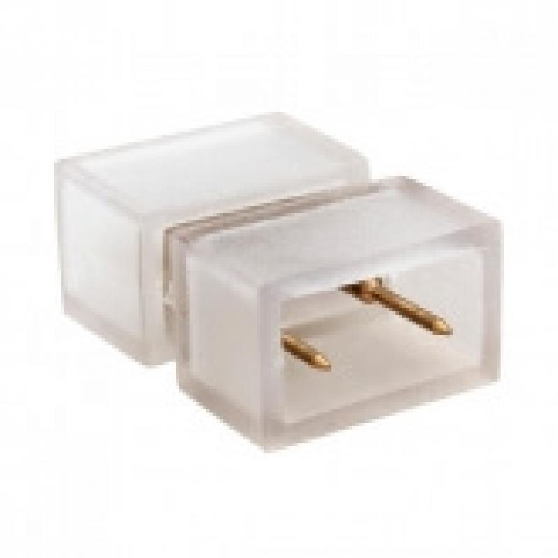 Conector de unión para tira LED 220v con silicona - Imagen 1