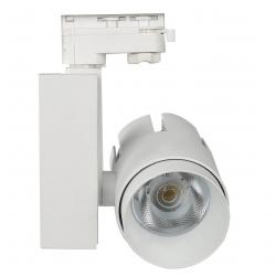 Foco LED 35W LARA WHITE  para Carril Trifásico 24º