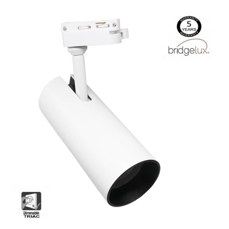 Foco LED 30W MAYA para Carril Monofásico DOB Driverless 24º - Imagen 1