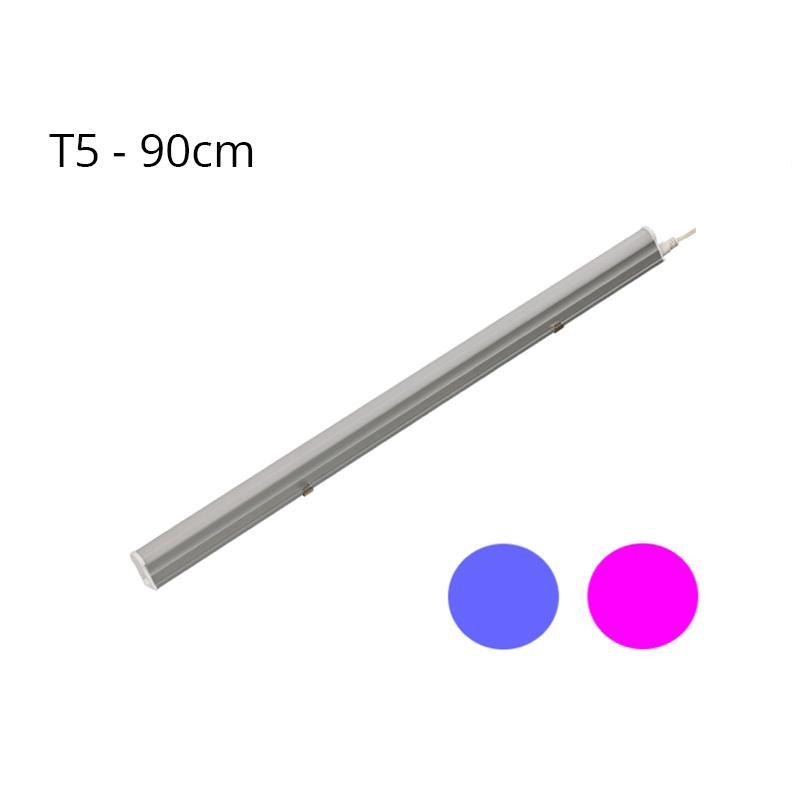 Regleta LED T5 15W 120º G13 Azul y Rosa - Imagen 1