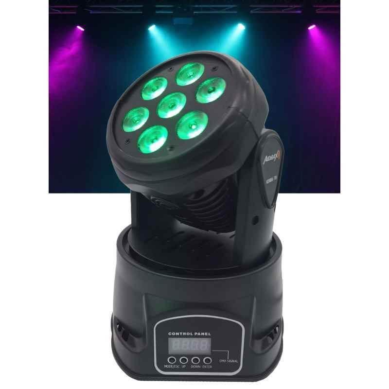 3840c34a5ad Cabeza Móvil LED RGBW 4 en 1 Wash IOWA 70 - Imagen 1
