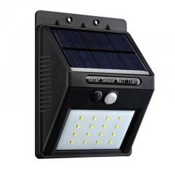 Aplique Solar con Sensor de presencia PIR