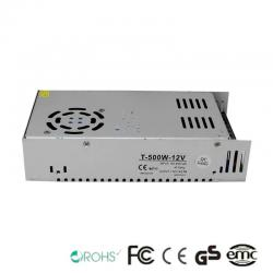Fuente Alimentación 12V 500W - Aluminio IP20 - Imagen 1