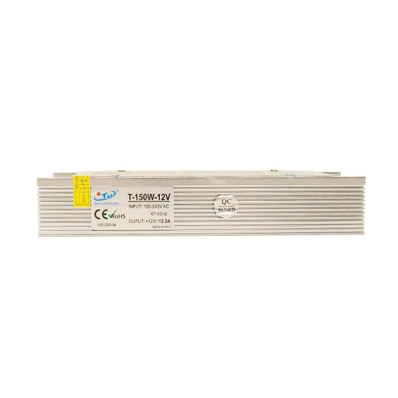 Fuente Alimentación 12V 150W - Aluminio IP20 - Imagen 1