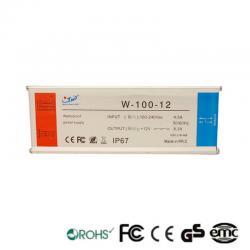 Fuente Alimentación 12V 100W IP67 TECMO