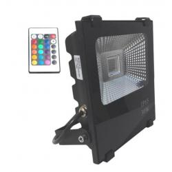 Foco Proyector  Exterior LED 30W RGB PROFESIONAL - Imagen 1