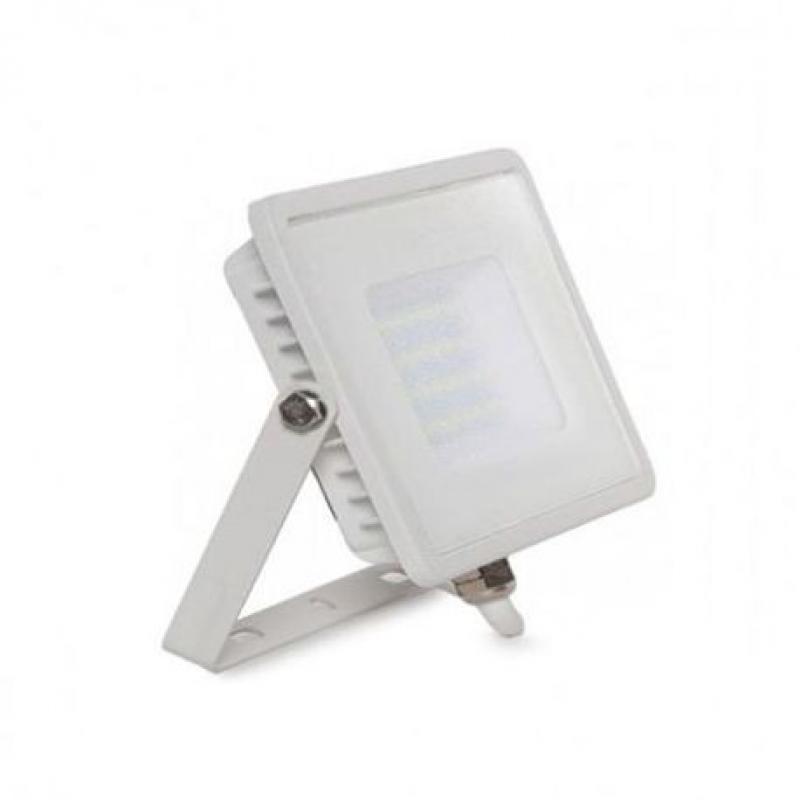 Foco Proyector Exterior Blanco LED 10W IP65 Elegance 3 años de garantia 2835-3D - Imagen 1