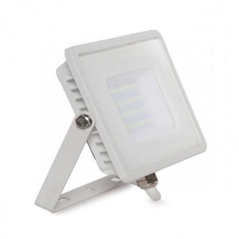Foco Proyector Exterior Blanco 20W IP65 Elegance 3 años de garantia - Imagen 1