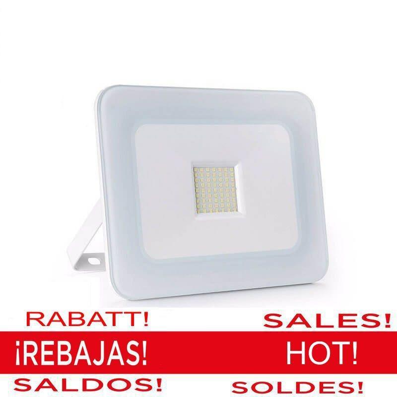 Foco Proyector Exterior LED Luxury 50W Blanco - Imagen 1