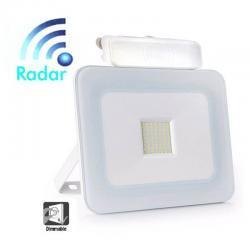 Foco Proyector Exterior 30W LED Luxury RADAR Blanco - Imagen 1