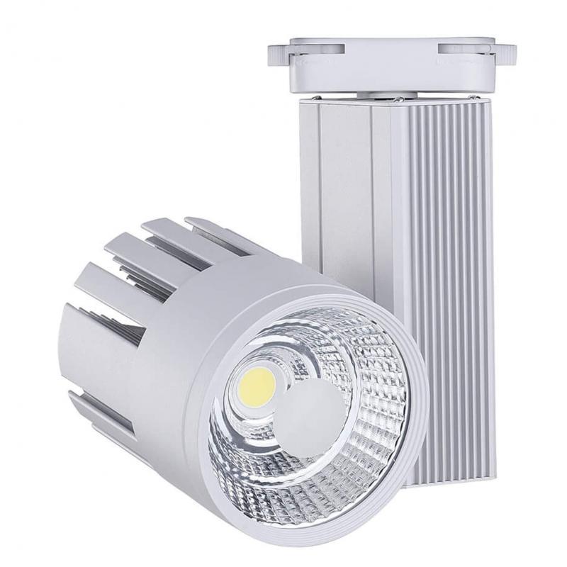 Foco LED 30W OLIVIA para Carril Monofásico - Imagen 1